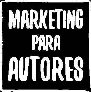 Marketing para Autores - Logo Branco