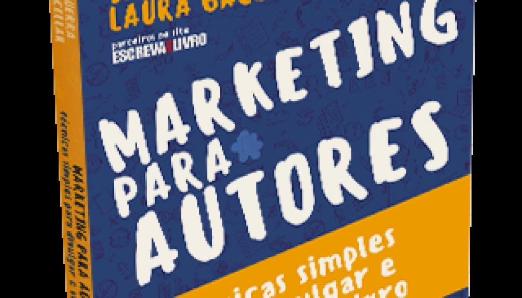 Capa do Livro Marketing Para Autores