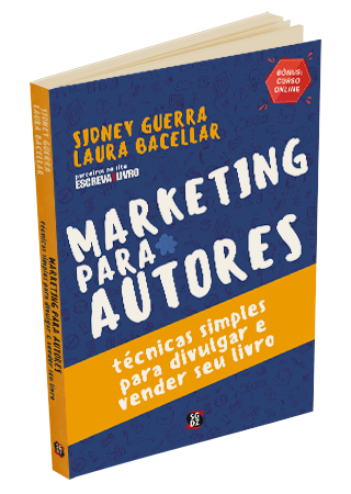 Capa do Livro Marketing Para Autores